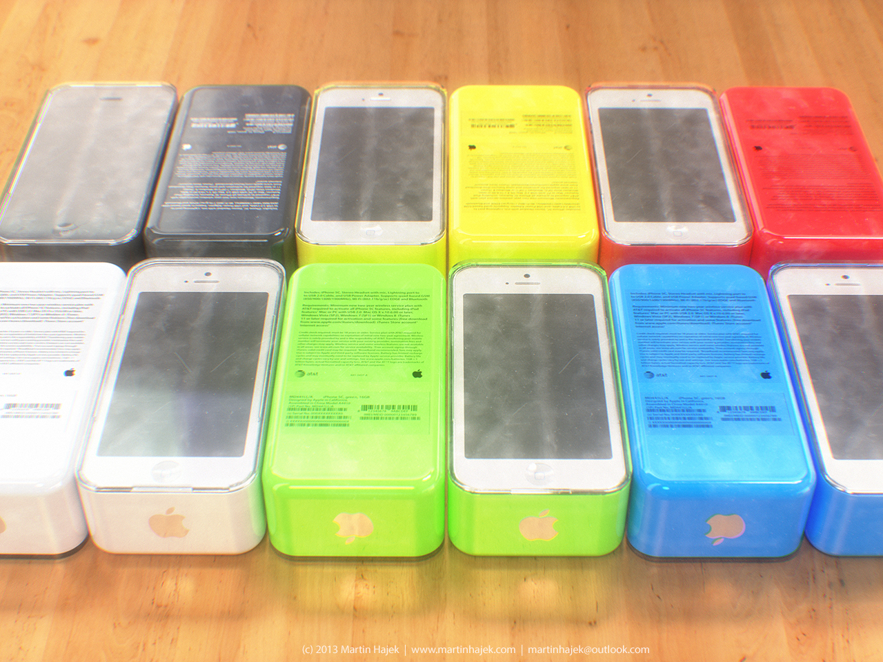 iPhone 5C boxes?