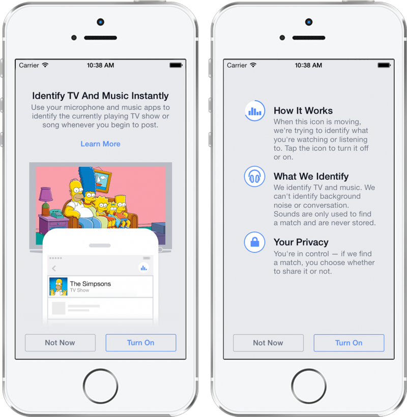 Facebook with some creepy new passive listening options
