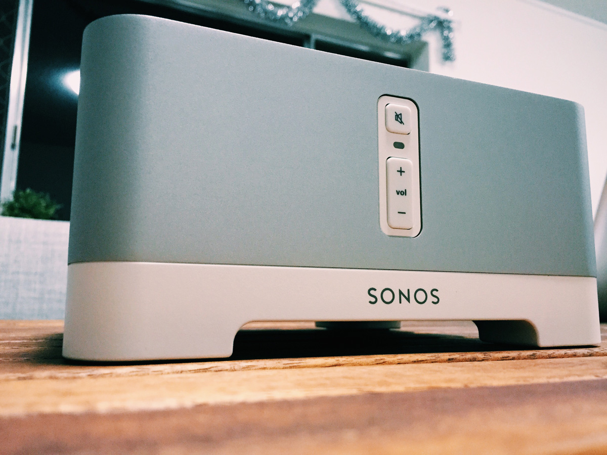 The Sonos Connect Amp