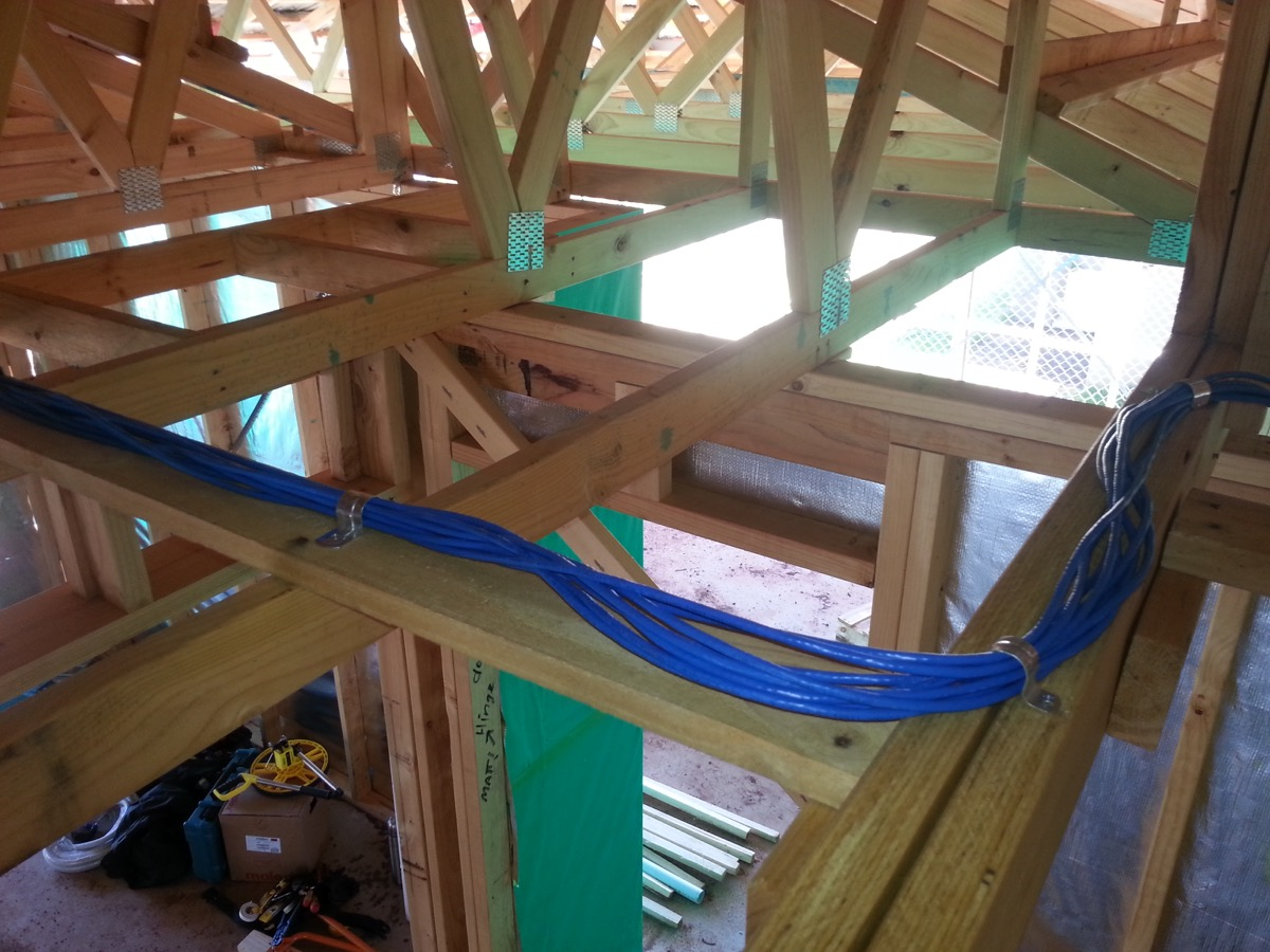 wiring up a new house with ethernet - a walk-through - reckoner, Wiring house