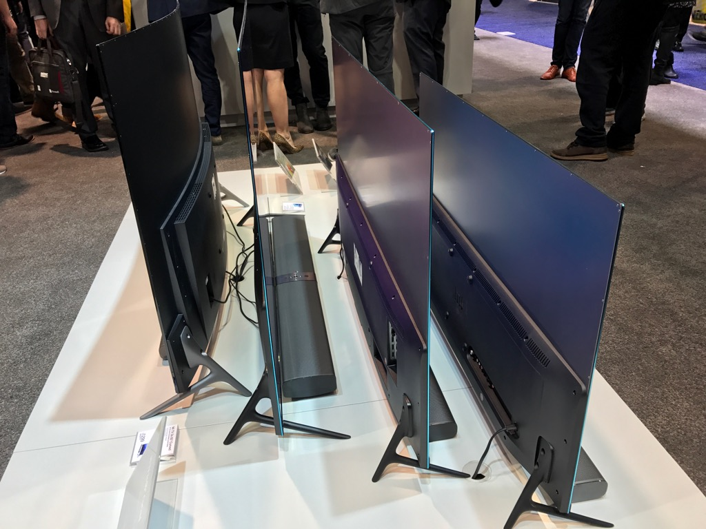 Xiaomi's lineup of high end LCD TV's.