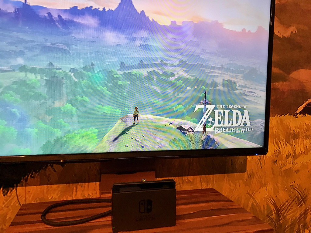 Nintendo Switch Zelda docked