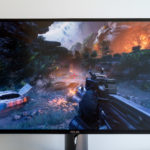 The PG279Q's IPS panel in all its high refresh rate glory.