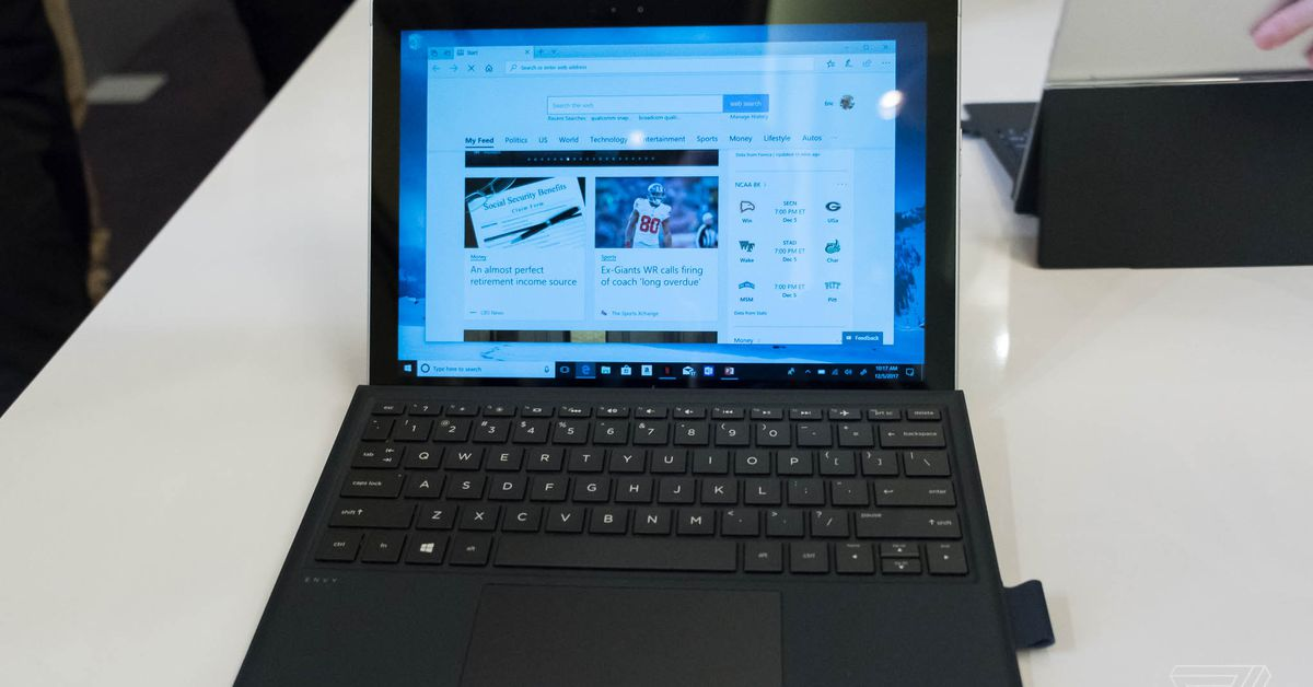 Qualcomm shows off Windows 10 ARM laptops & its new Snapdragon 845 processor
