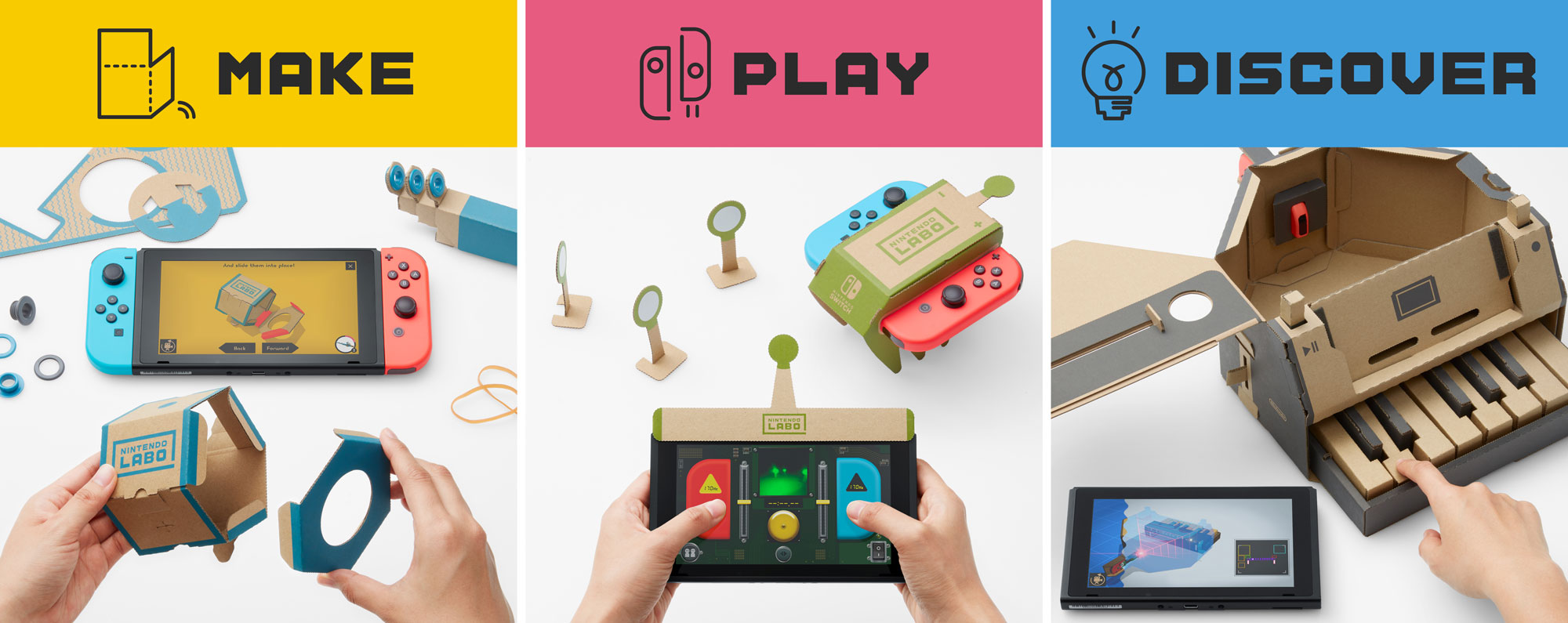 Nintendo Labo on the Switch is Nintendo at its most bizarrely magical