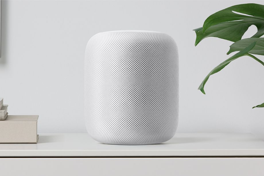 White Apple HomePod