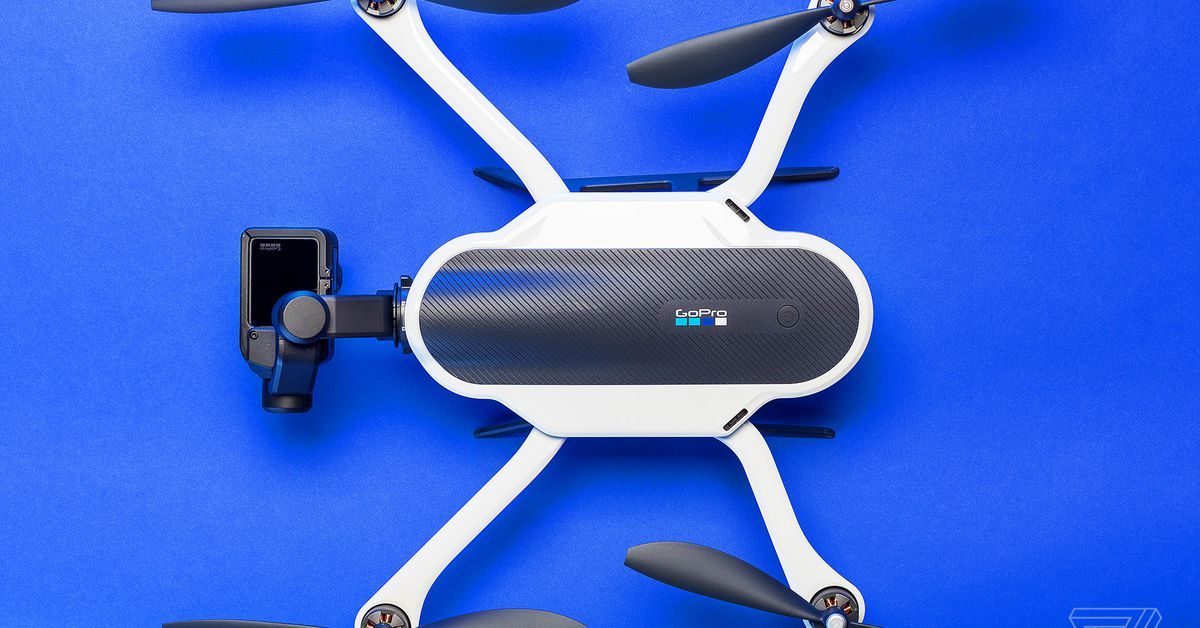 GoPro stops making drones & potentially starts looking for a buyer