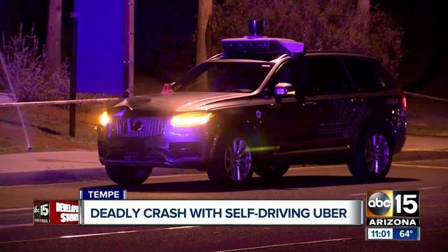 Self-driving Uber hits & kills a pedestrian