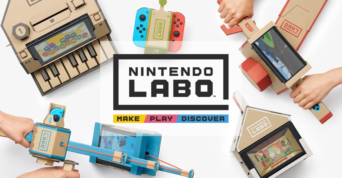 Preview: An in-depth hands on with Nintendo LABO