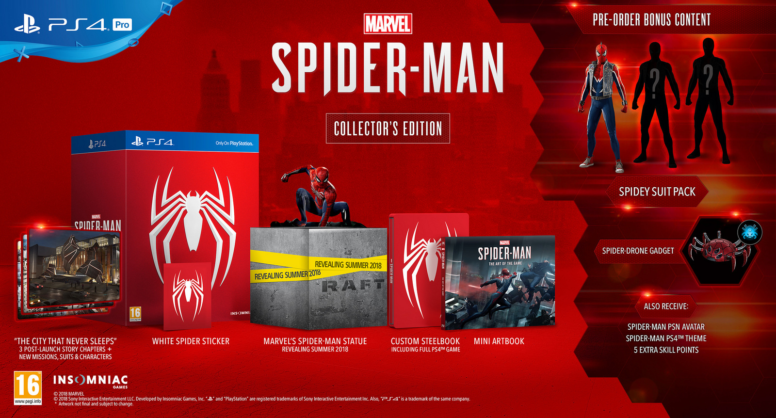 Spiderman is coming to the PS4 September 7th