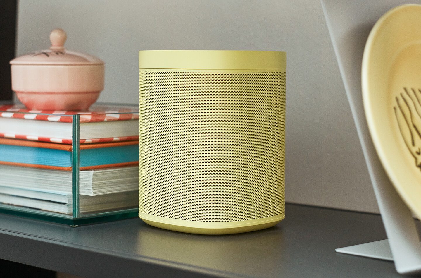 The Sonos One is getting some fancy new colour options