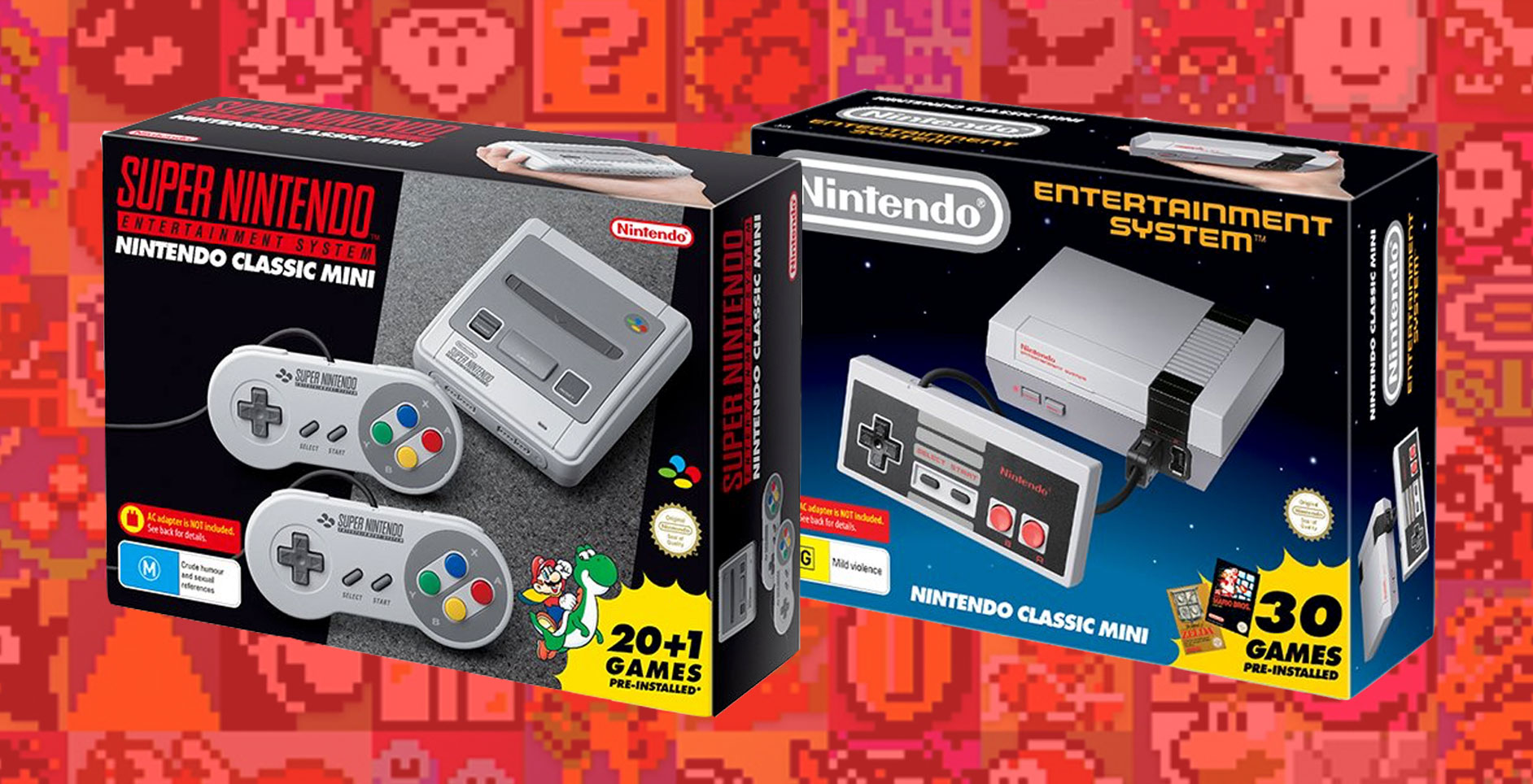 Miss out on a NES/SNES Mini? Fear not they're back this June