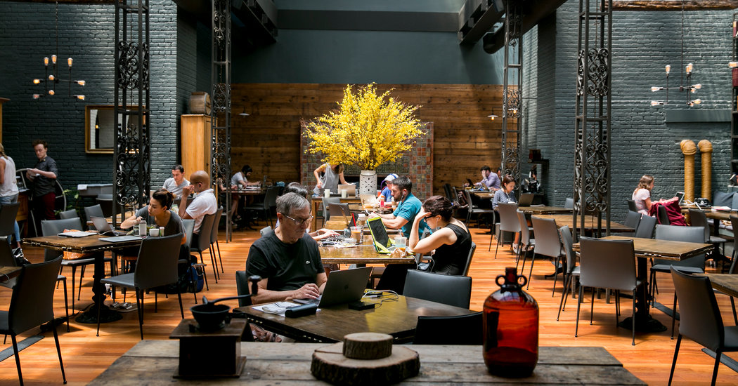 Restaurants look to make hay on lunchtime lulls with new co-working space initiative