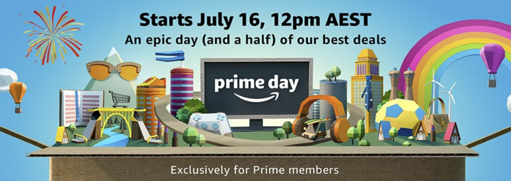 Australia to have its first Amazon Prime Day, July 16th