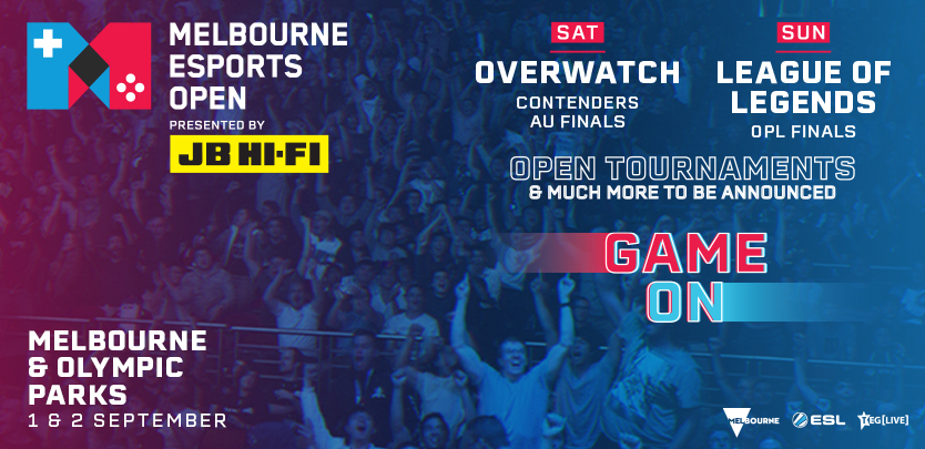 Australia's sporting capital goes digital with the inaugural Melbourne Esports Open