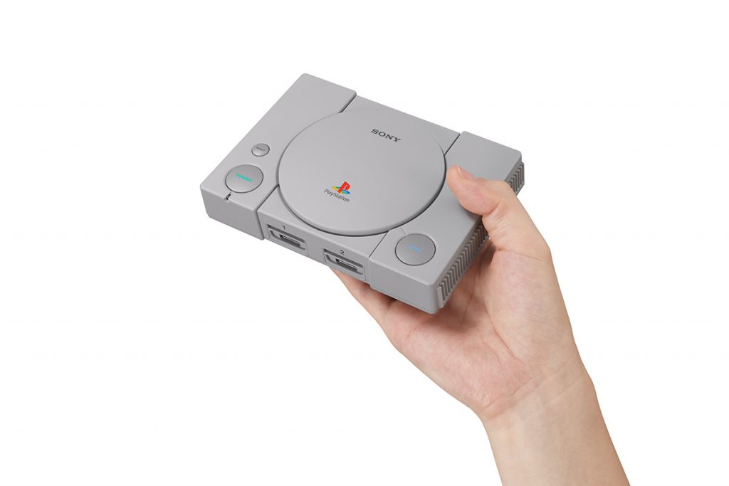 Oh look Sony has a mini console too…