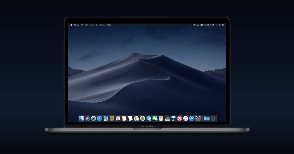 macOS Mojave is here