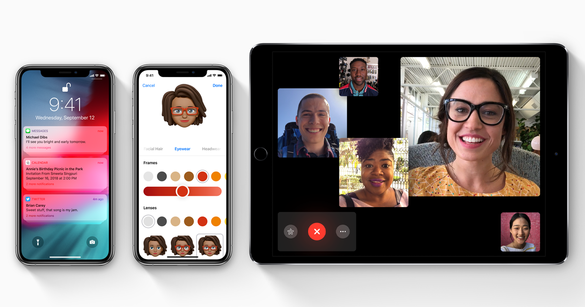 iOS 12 is out today