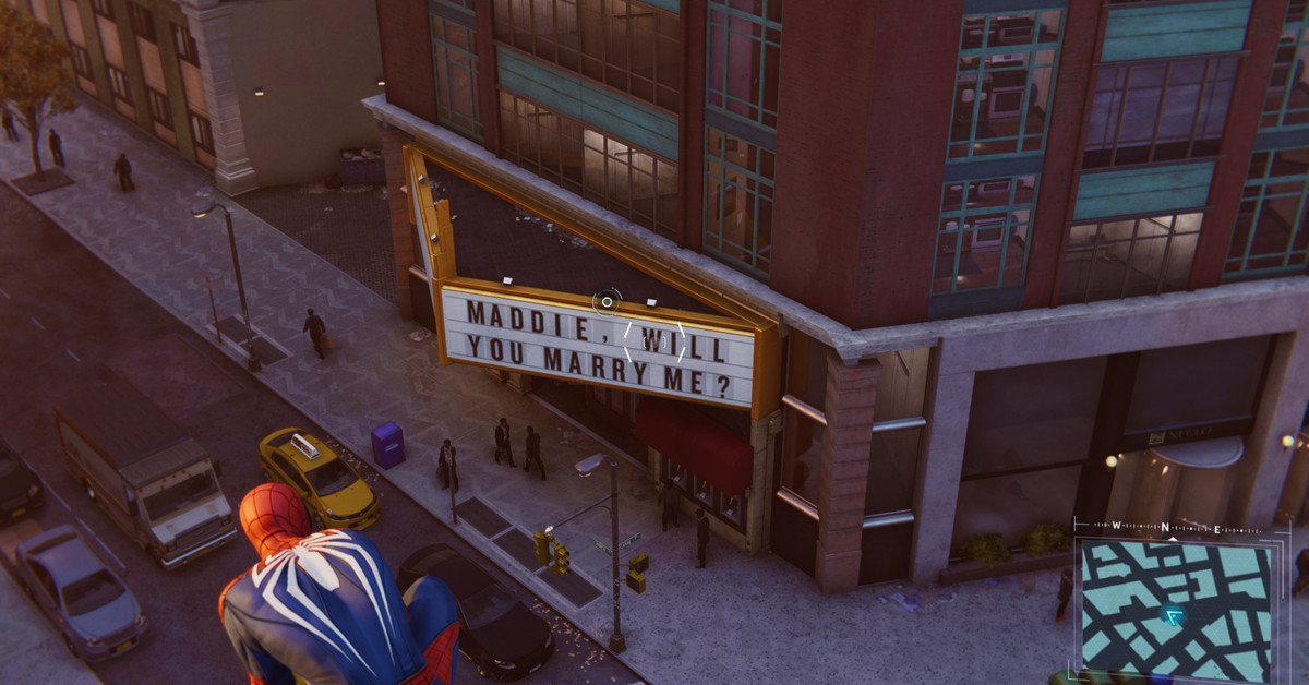 The Spider-Man in-game marriage proposal: A tragedy in three parts