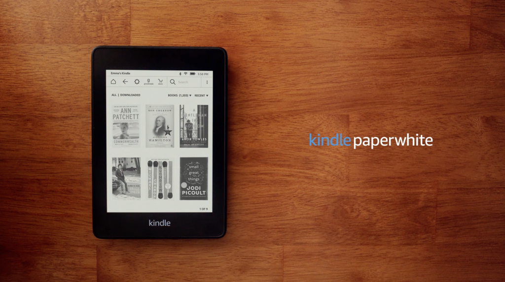 Amazon's new Kindle Paperwhite is now completely waterproof