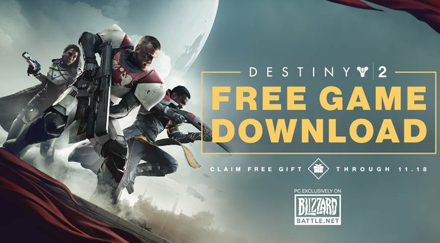 Get Destiny 2 on PC for FREE!