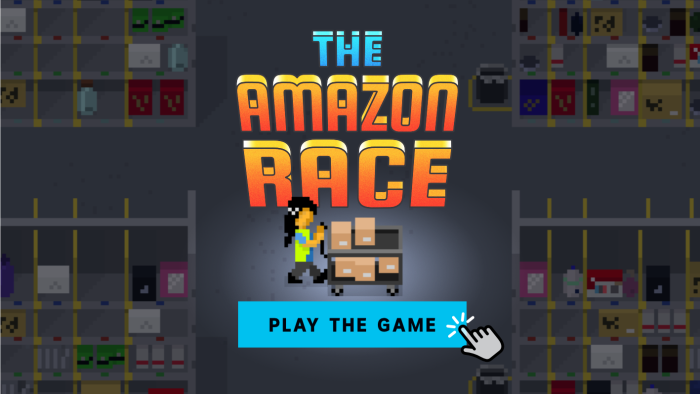 "Play ""The Amazon Race"" – A news game about what it's like to work at Amazon Australia"