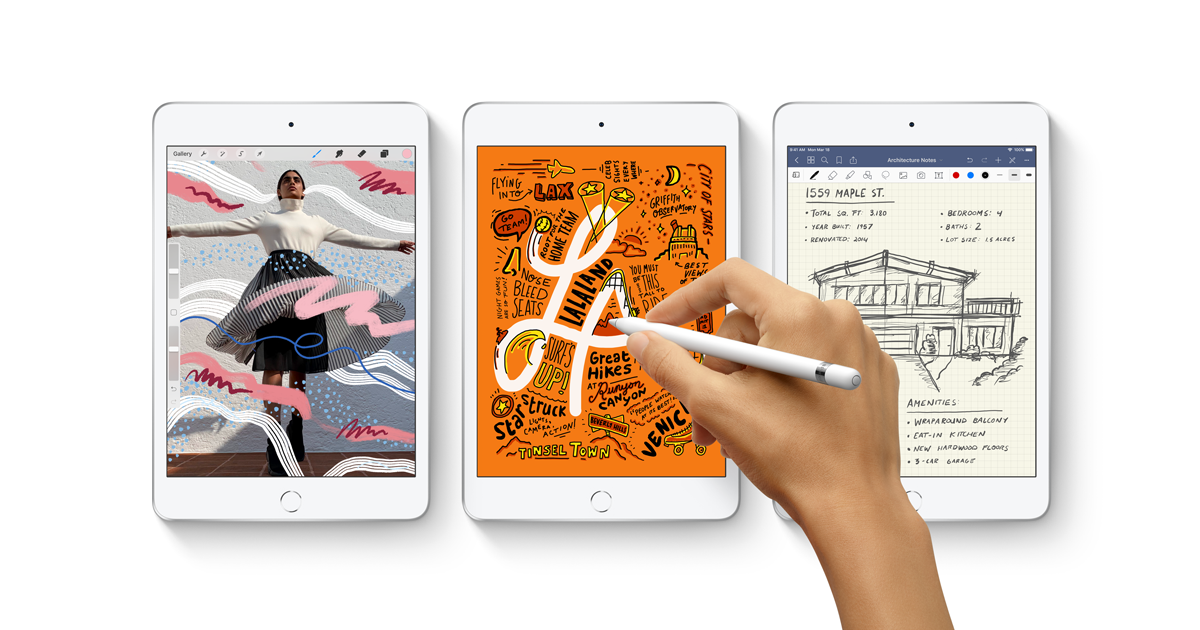 Apple updates the iPad Mini for the 1st time in 4 years
