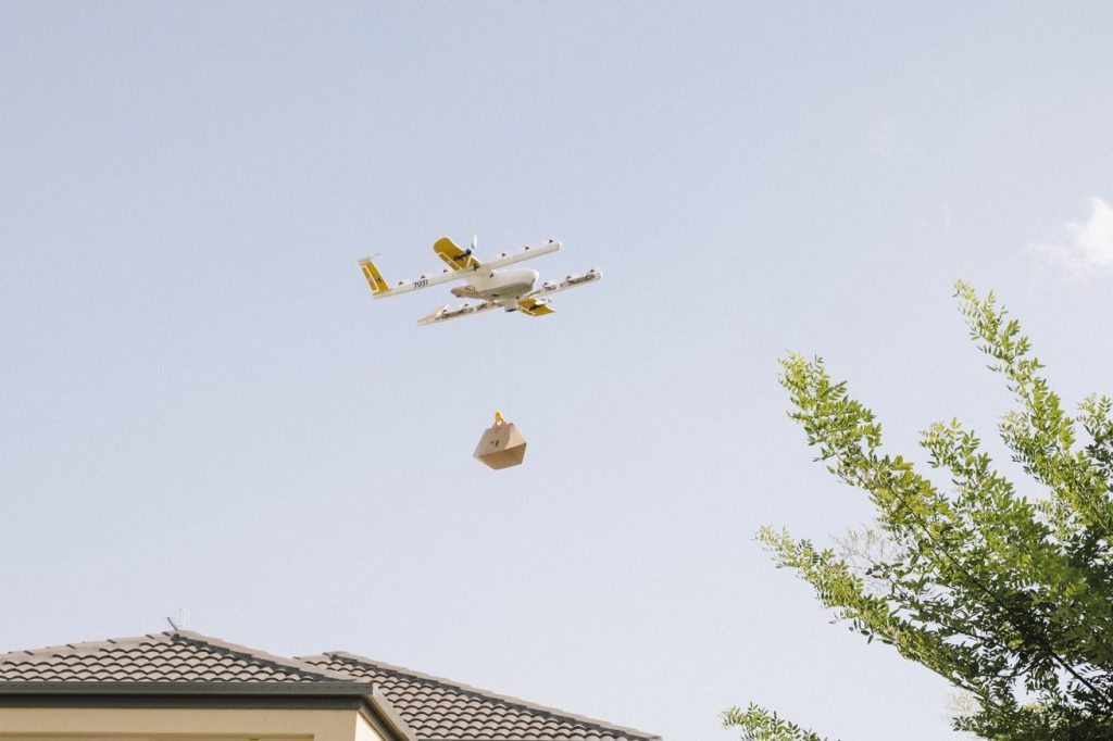 "Google's ""Wing"" drones start delivering products in Canberra"