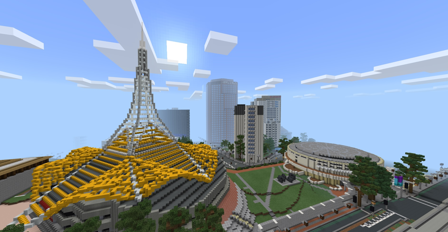 Victorian government recreates Melbourne CBD in Minecraft