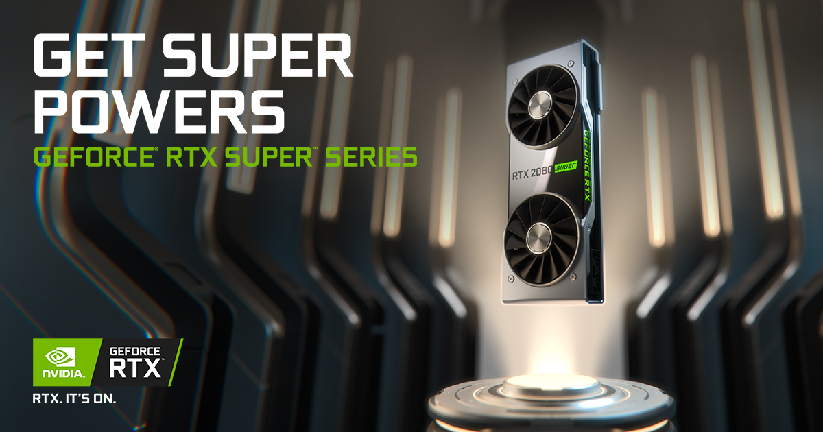 Nvidia announce new mid-tier 'Super' RTX 20 Series GPUs